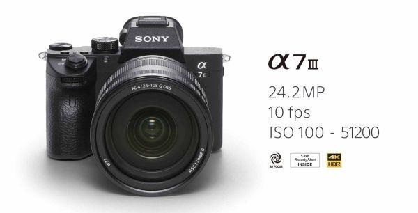 De Sony A7 III. In deze blog vertellen we je er alles over.