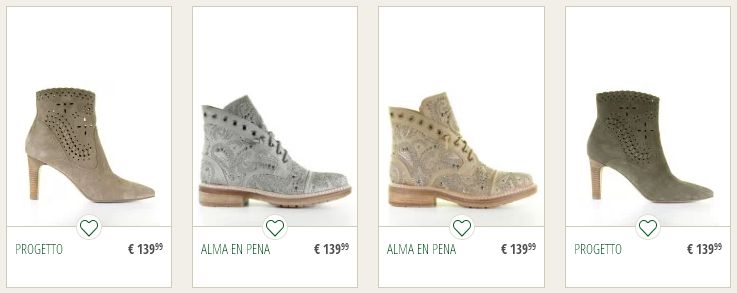 Online de mooiste damesschoenen kopen.