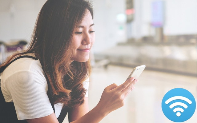Gratis wifi-wachtwoorden op alle luchthavens ter wereld.